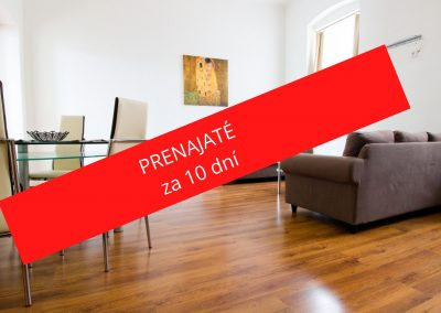 PRENÁJOM 3 izbový byt s garážou v centre (ul. 29.augusta)