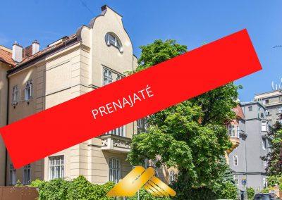 PRENÁJOM priestranný 2i byt pri EUROVEA (Klemensova 12)