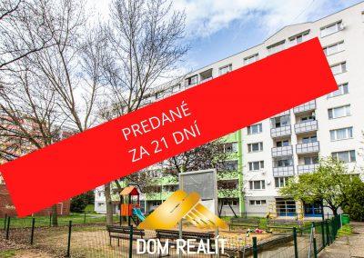 Priestranný 3-4 izbový byt Karlová Ves (ul.Ľ.Fullu)