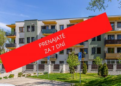 PRENÁJOM – Luxusný 3 izbový byt v novostavbe Rosnička