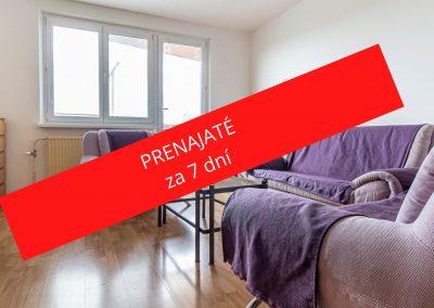 PRENÁJOM Priestranný 3 izbový byt DNV (Jána Poničana)