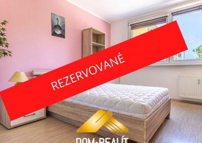 Zrekonštruovaný zariadený 3i byt Dúbravka Gallayova