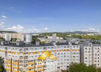 3 izbový byt s panoramatickým výhľadom Karlová Ves