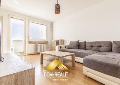 3 izbový byt, Bebravská ulica